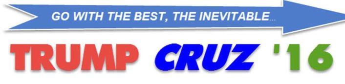 TRUMP CRUZ GO WITH THE BEST 1200