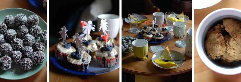Backideen Rezepte Muffins Erdnuss-Cranberry-Cookies Chokladbollar Sarine Turhede Blog Header