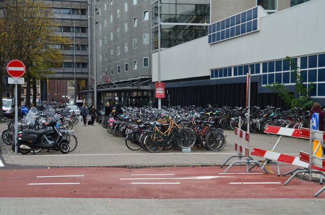 Parking à vélos - Amsterdam