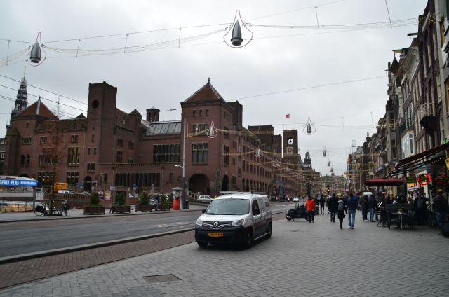 Sur le Damrak - Amsterdam