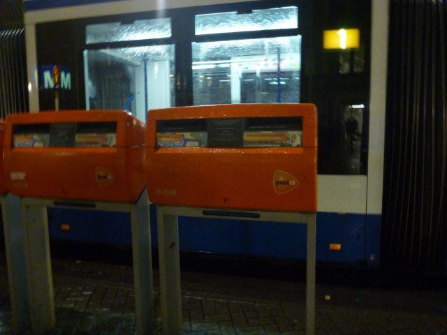 Boîtes aux lettres de la poste néerlandaise