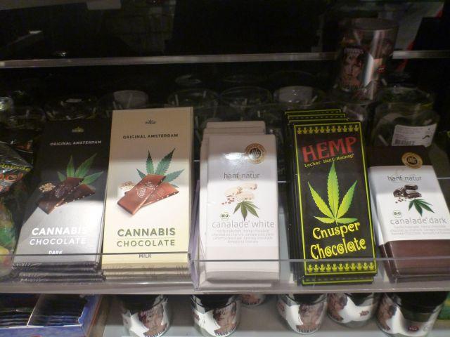 Chocolat au cannabis - Amsterdam