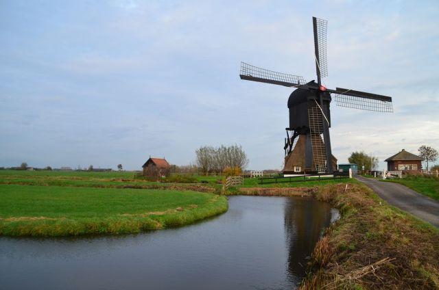 Moulin (sur la N216 entre Nieuwpoort et Goudriaan)