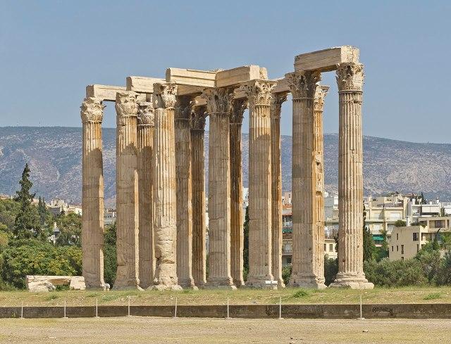 Olympiéion - Athènes (photo de A.Savin)