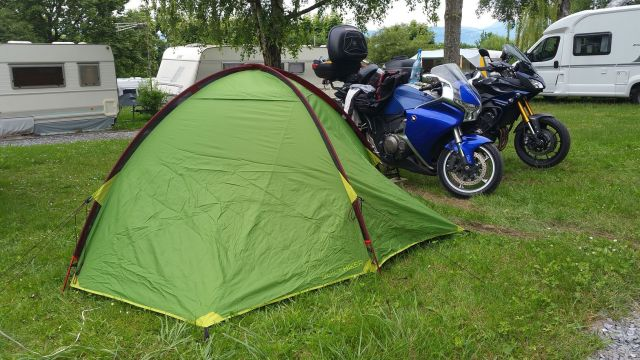 Notre premier camping - Lugrin