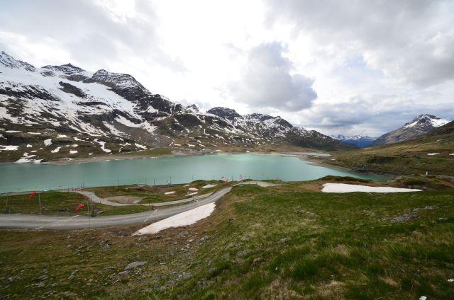 Passo del Bernina - Lago bianco