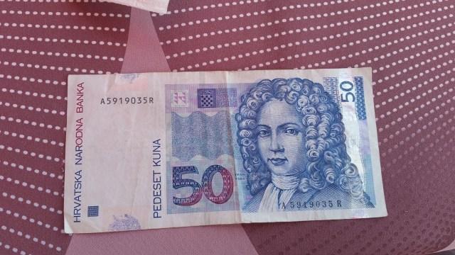 Billet de 50 Kn - Croatie