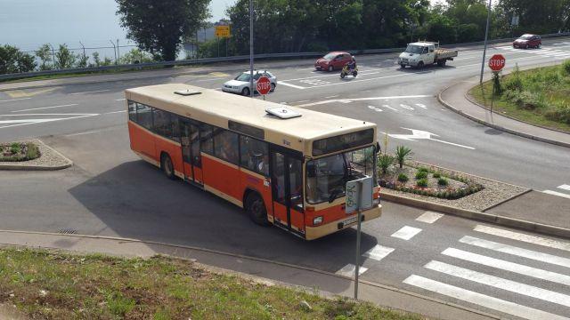 Un bus à Rijeka - Croatie
