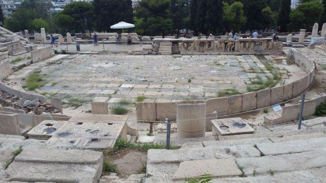 L'Acropole - Théâtre de Dionysos