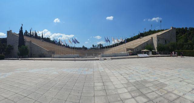 Le stade olympique à Athènes