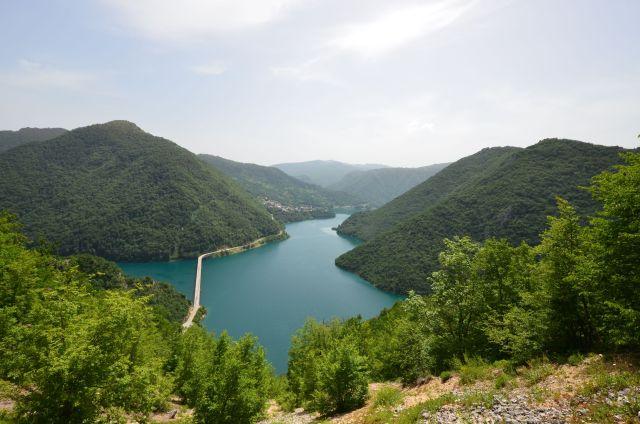 Sur les hauteurs du Pivsko Jezero - Monténégro