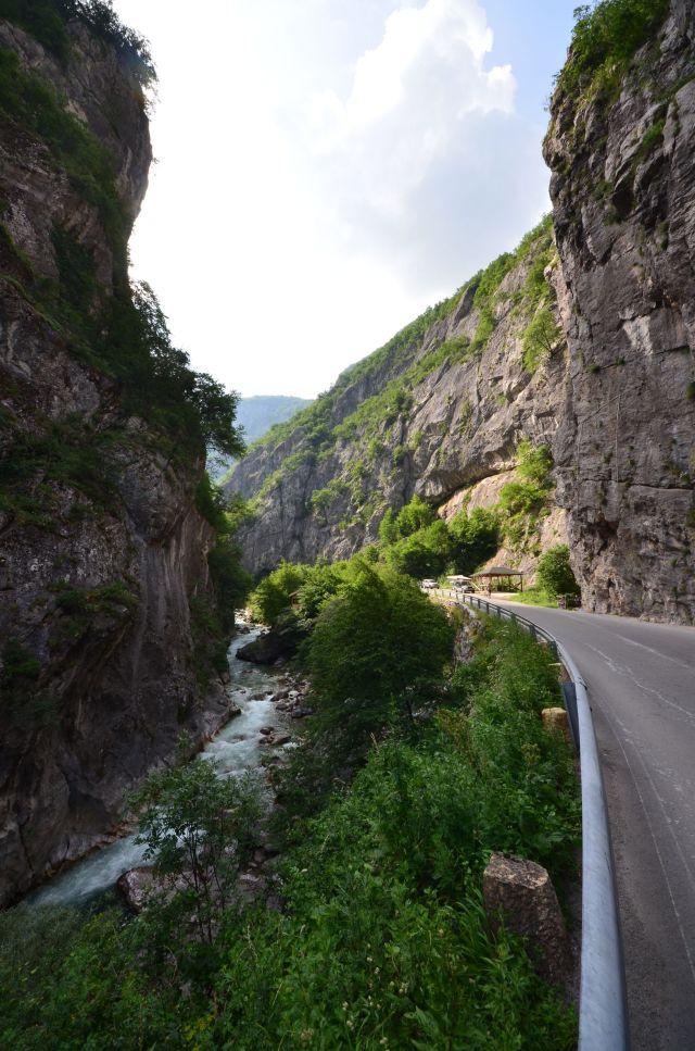 Les gorges de Rugova - Kosovo