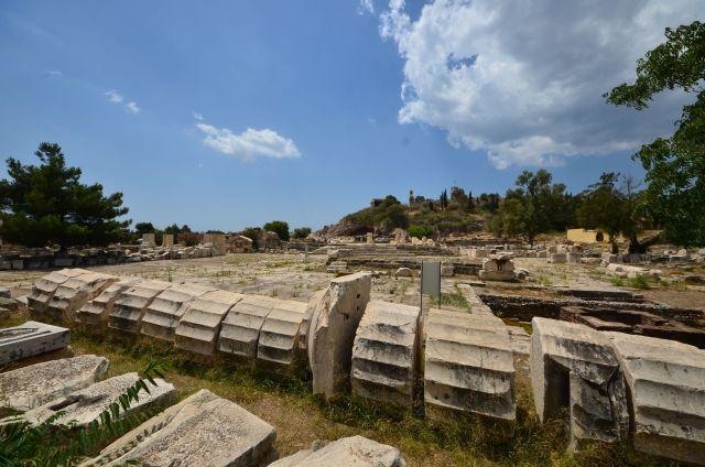 Site archéologique d'Elefsina (Éleusis)