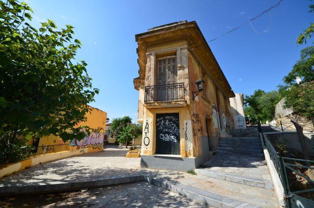 Quartier de l'Acropole - Athènes