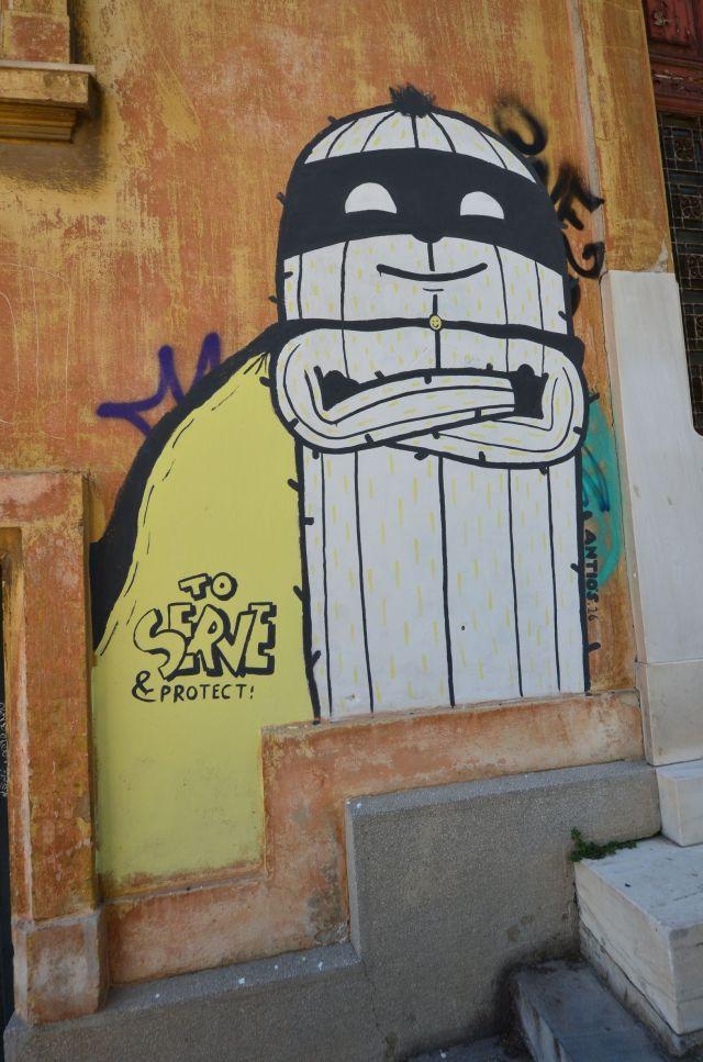Supercactus à Athènes