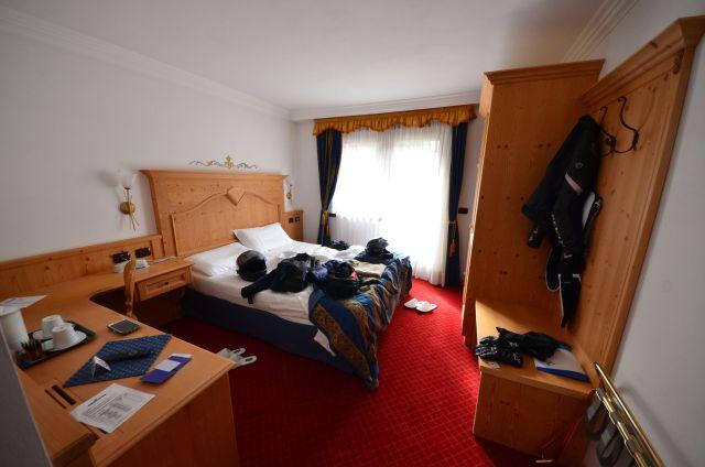 Notre chambre à l'hôtel Antares