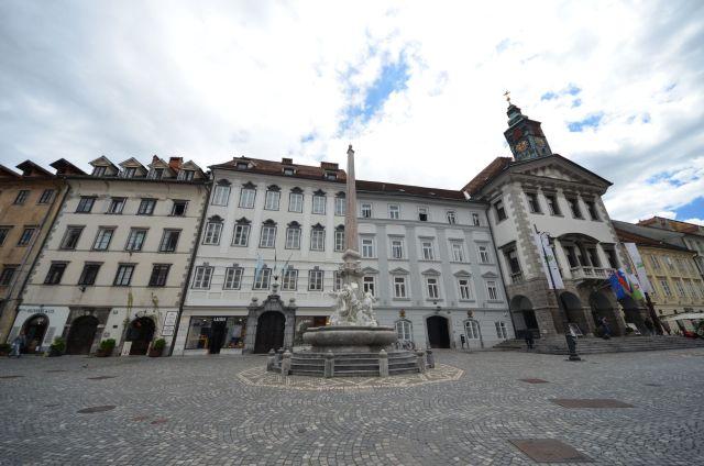 Robbov vodnjak (Mestni Trg) - Ljubljana