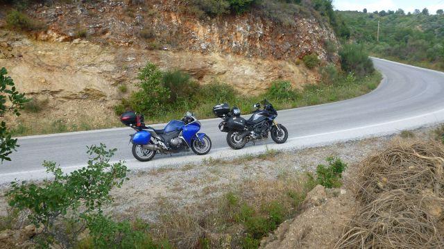 Les motos nous attendent sagement ☺️