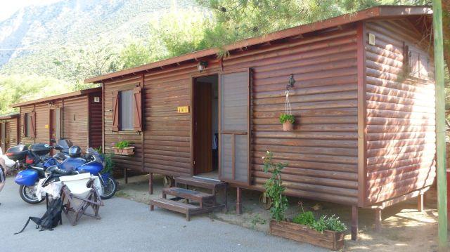 Notre bungalow au camping Apollon
