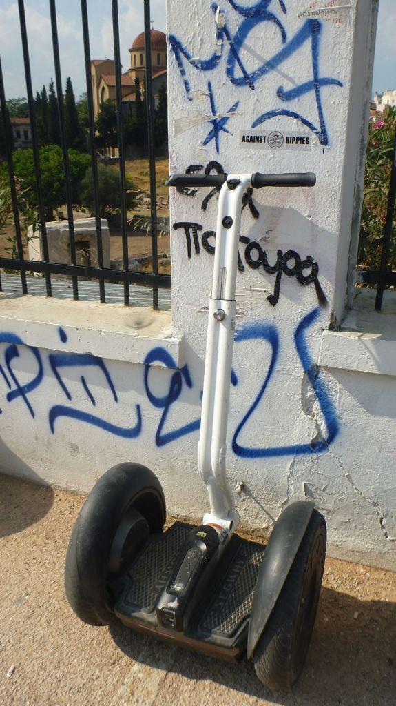 Essai du Segway - Athènes