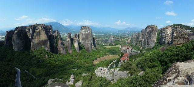 Panorama sur les Météores - Grèce