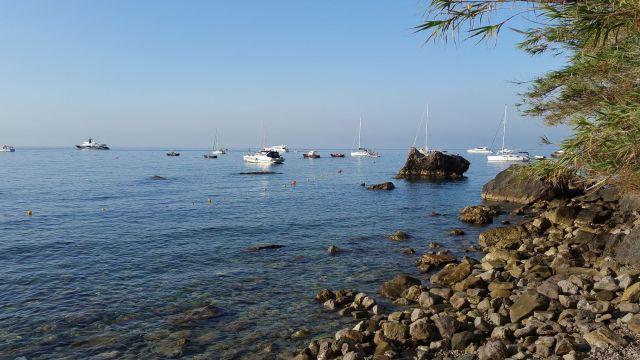 L'accès à la mer du camping Nettuno
