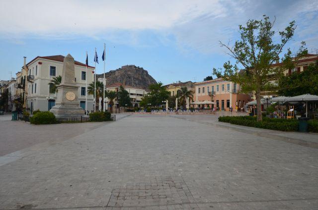 Square Philellion (Nauplie)- Grèce