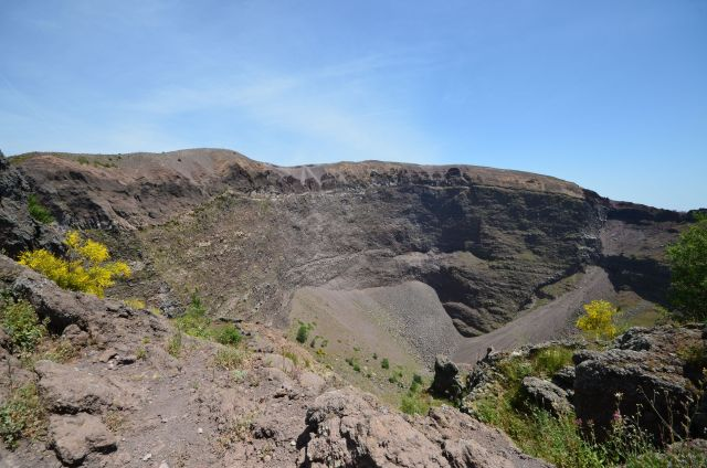Le cratère - Vésuve