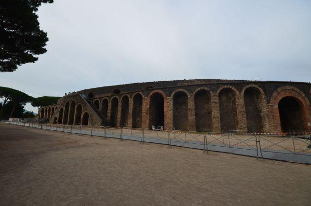 Amphithéâtre - Pompéi