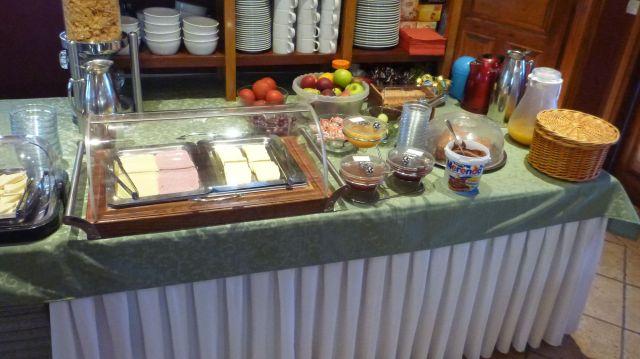 Buffet petit déjeuner de l'hotel Machalas – Kipoi