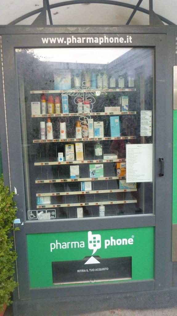 Distributeur pharmacie