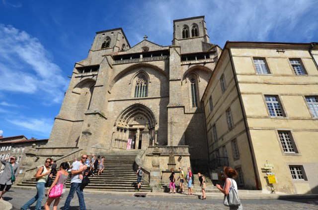 Eglise abbatiale St-Robert - Chaise-Dieu