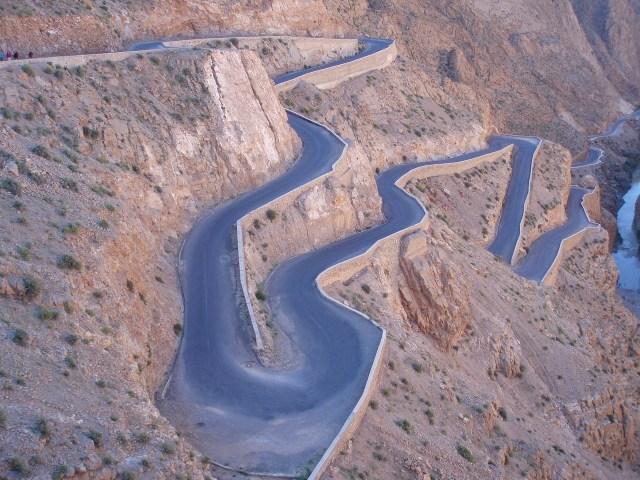 Road of a thousand Kasbahs, High Atlas Mountains, Morocco
