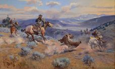 Russell_Loops_and_Swift_Horses_are_Surer_than_Lead_1916