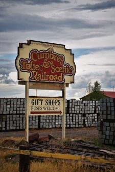 Cumbres & Toltec Railroad sign