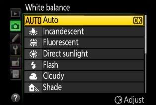 WHITE BALANCE PHOTO ILLUSTRATION AS KEY BASIC