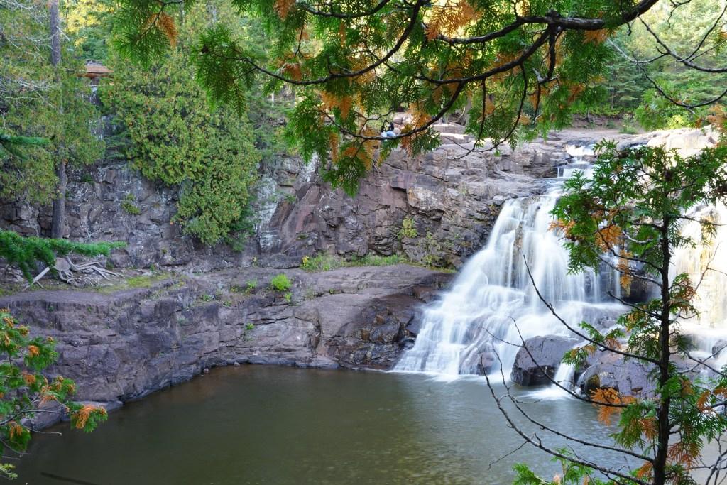 Upper Falls Gooseberry Falls