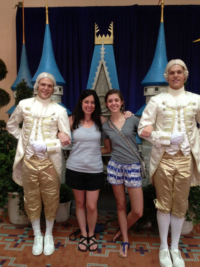 Disney Princess Half Marathon Expo Footmen