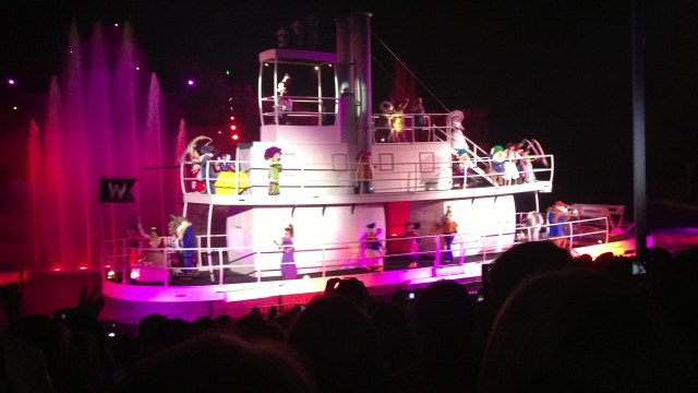 Disney Princess Half marathon Fantasmic