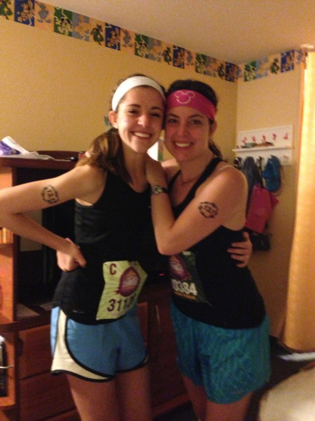 Disney Princess Half Marathon Ready to run