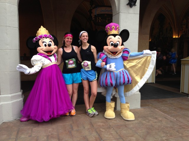 Minnie and Mickey! Disney Princess Half Marathon