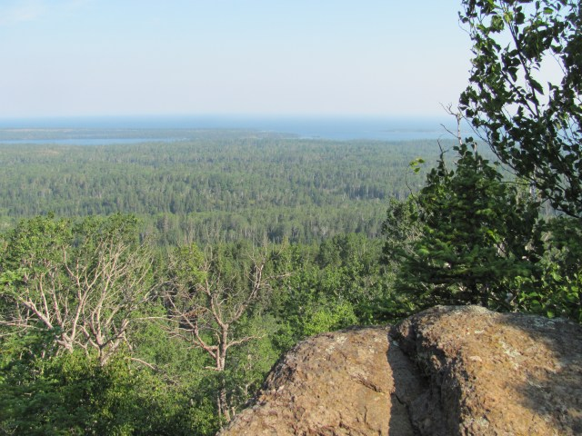 Views From Greenstone Ridge Trail on Isle Royale National Park