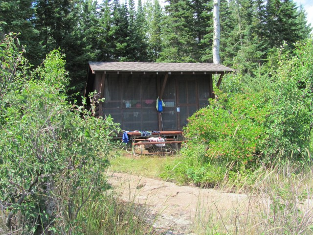 Our Moskey Basin Home in Isle Royale National Park