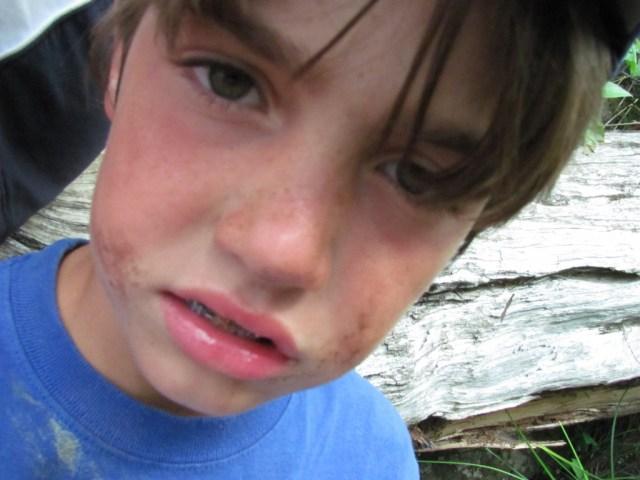 Dirty Garrett at West Chickenbone Lake