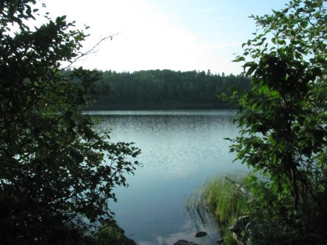 West Chickenbone Lake in Isle Royale
