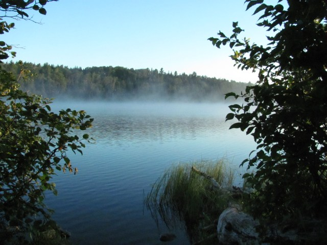 Early Morning on West Chickenbone Lake