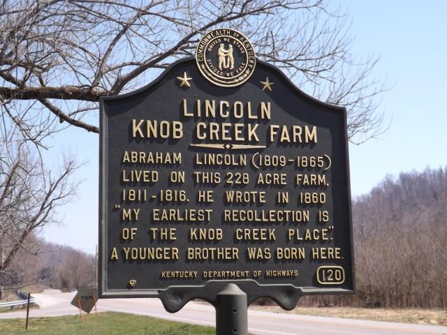 Lincoln's Boyhood Home at Knob Creek