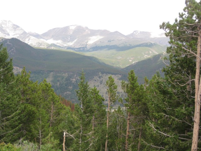 Trail Ridge Road Scenic Drive in Rocky Mountain National Park