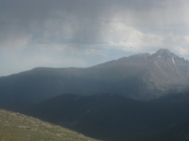 Storms Moving In At Rocky Mountain National Park