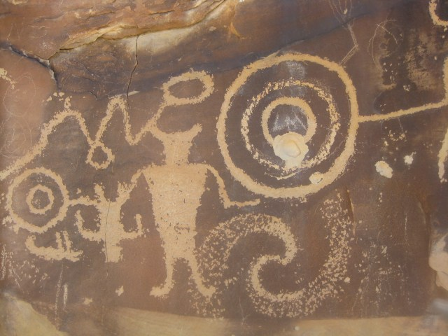 Petroglyphs in Dinosaur National Monument